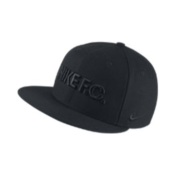 Nike F.C. True Adjustable Hat (Black)