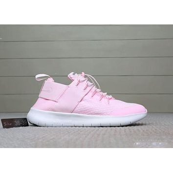 NIKE FREE RN CMTR 2018 Summer New Style Couples barefoot running shoes F-A0-HXYDXPF Pink