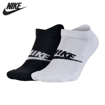 Original   NIKE 2PPK FUTURA NO SHOW Men's Sports Socks  2 Pairs