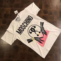 Moschino Print Handbag Loose T-Shirt