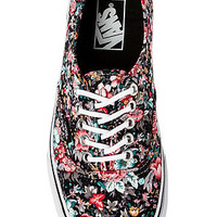 The Authentic Sneaker in Multi Floral