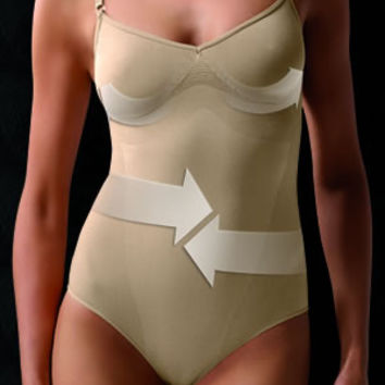 Control Body Strappy Body - Firm Support