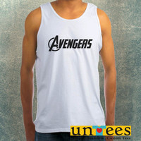 The Avengers Logo Clothing Tank Top For Mens