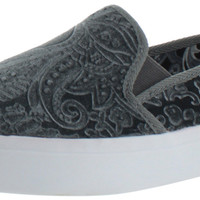 Very Volatile Deluge Womens Paisley Slip On Sneakers Shoes