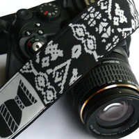 Aztec Camera Strap. dSLR Camera Strap. Photo Camera Accessories.