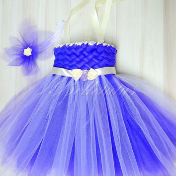 Woven tutu dress – flower girl tutu – baby tutu dress – wedding tutu dress – birthday tutu dress – party tutu dress – pageant dress