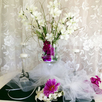 Wedding Centerpiece Kit - Wedding Centerpiece - Centerpiece Ideas - Centerpieces - Wedding Decorations - Reception Decor - Table Decorations