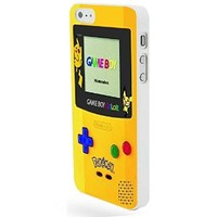 Vc 76 Handmade Finely Printed- Pokemon Gameboy Color -Hard Plastic Framed White Fit for Iphone 5/5s