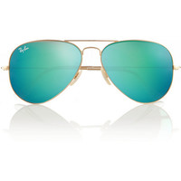 Ray-Ban | Aviator mirrored metal sunglasses | NET-A-PORTER.COM