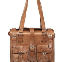 Clementine leather bag