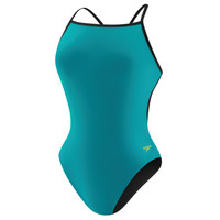 Speedo Flipturns Solid Reversible Fresh Back at All American Swim
