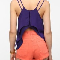 Pins and Needles Flutter Back Double Layer Cami