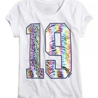 Number 19 Graphic Tee