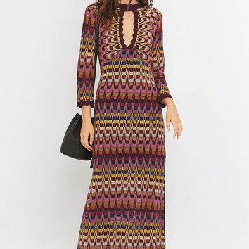 Free People Good Vibrations Purple Jumper Maxi Dress - Urban Outfitters