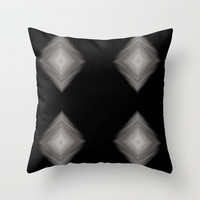 Throw pillow cover, black and white decorative pillow, black and white pillow, abstract pillow, home decoration, decorative art pillow, art