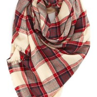 BP. Plaid Square Scarf | Nordstrom