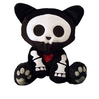 Skelanimals Deluxe Plush - Kit the Cat :: VampireFreaks Store :: Gothic Clothing, Cyber-goth, punk, metal, alternative, rave, freak fashions