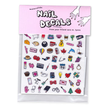 Sara M. Lyons Nail Decals- Dainty & Dirty