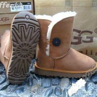 iOffer: 5803 Triple Buttons WOMEN BOOTS UG SIZE 5 6 7 8 9 10 for sale