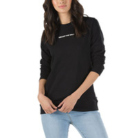 Gamer Crew Sweatshirt | Shop Womens Sweatshirts At Vans
