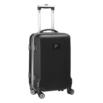 ST Louis Blues Luggage Carry-On  21in Hardcase Spinner 100% ABS