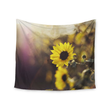 "Libertad Leal ""Magic Light"" Flower Wall Tapestry"