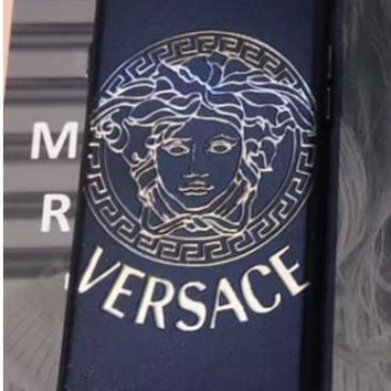 Versace personalized hollow relief iphone6 phone shell all-inclusive wrestling couple Iphone 7 VERSACE
