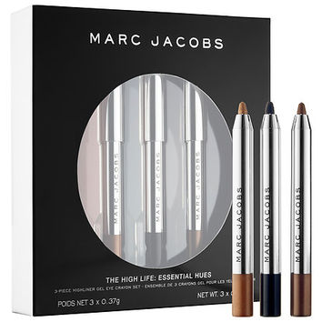 The High Life: Essential Hues 3-Piece Petites Highliner Gel Eye Crayon Set - Marc Jacobs Beauty | Se
