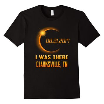 Beautiful clarksville Tennessee Total Solar Eclipse 2017 Tee