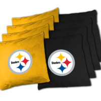 NFL Pittsburgh Steelers XL Bean Bag Set NFL Pittsburg Steelers