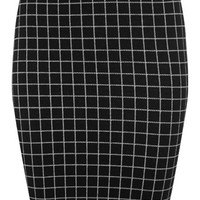 Window Pane Mini Skirt - Skirts - Apparel