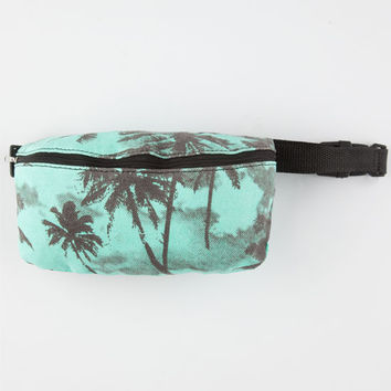 Palm Tree Fanny Pack Green Combo One Size For Women 25404654901
