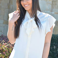 Start A New Day Top - Ivory