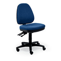 Five-Way Ergonomic Armless Chair - 56175 and more Office Chairs