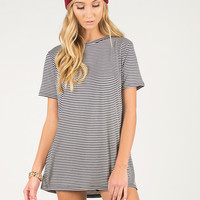 Tiny Stripe Long Tee