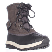 Bearpaw Nelly Waterproof Shearling Lined Snow Boots - Dark Brown