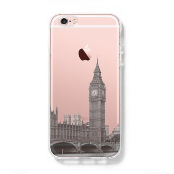 London Big Ben Westminster Bridge iPhone 6s Clear Case iPhone 6 plus Cover  iPhone 5S 5 97e3dade97a4