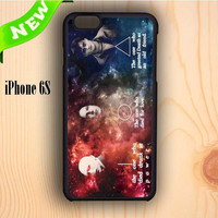 Dream colorful Harry Potter Character Quote Galaxy iPhone 6S Case