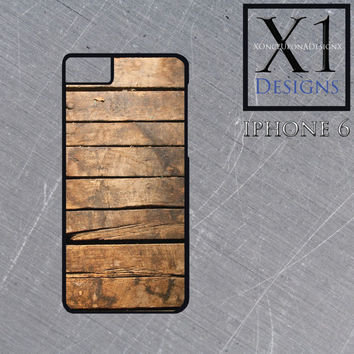 Custom Made Iphone 6 case Iphone cover Wooden Deck Iphone Case Wood Finish Iphone case