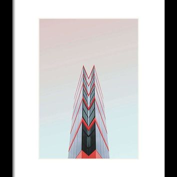 Urban Architecture - London, United Kingdom 4 - Framed Print
