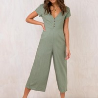 Seven Days Jumpsuit Khaki