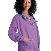 Buy Adar Uniforms Womens Two Pocket Warm-Up Scrub Jacket for $17.45