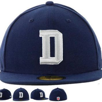 PEAPON Dallas Cowboys New Era 59FIFTY NFL Football Hat D