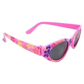 On The Verge Kids' Cat's Eye Sunglasses in Tropical Pink