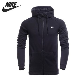 Original New Arrival  NIKE M NSW MODERN HOODIE FZ FT Men's  Jacket Hooded  Sportswear