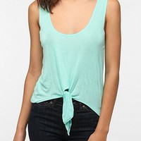 Daydreamer LA Tie-Front Tank Top