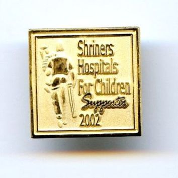 Shriners Hospitals For Children Supporters 2002 Pin Badge