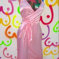 SWEET LORD O'MIGHTY! AFTERNOON DELIGHT SILK DRESS IN PINK
