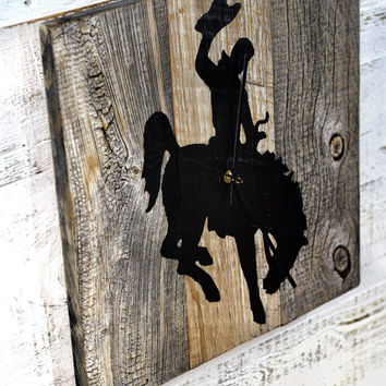 Reclaimed Barn Wood Clock