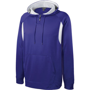 Holloway 229078 Affliction Hoodie - Purple White